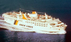 Anek Lissos Ferry Ship