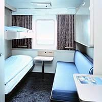 DFDS Ferry Seaway Class Cabin