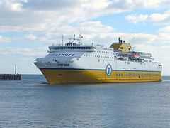 Transmanche Ferries Ship
